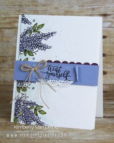 Stampin' Up! lots of lavender