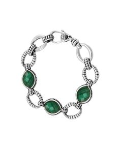 "You need to see this LAGOS ""Venus"" Silver Malachite Bracelet on Rue La La.  Get in and shop (quickly!): https://www.ruelala.com/boutique/product/101036/30261925?inv=sydneyaulffo&aid=6191"