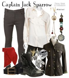 Captain Jack Sparrow | Pirates of the Caribbean - Disney Week - Click here!