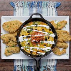 Tortilla Chip-Crusted Chicken With Queso Fundido Recipe by Tasty