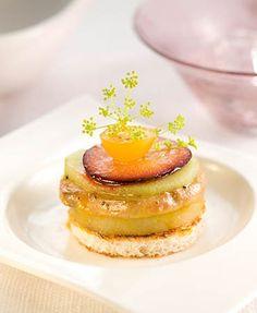 Canapé milhojas de foie – Delicooks   Good Food Good Life
