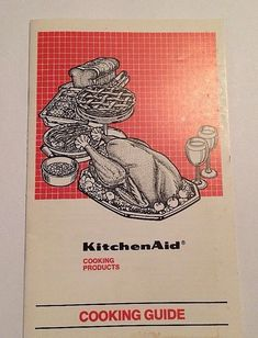 Vintage KitchenAid Stove Cooktop Cooking Guide Cooking Products #KitchenAid
