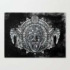 Aztec Angel don't blink Tardis doctor who Canvas Print #aztec #angledrwho #angle #drwho #tardis #phonebox #phonebooth #davidtenant #starrynight