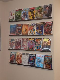DIY Low Profile Comic Book Shelves for true beginners with next to no experience (#QuickCrafter)