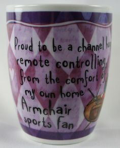 OCCUPATION MUG - ARMCHAIR SPORTS FAN
