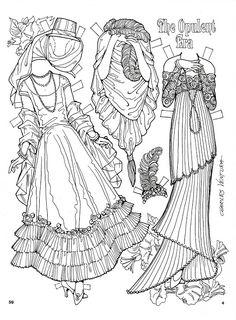 The Opulent Era Paper Dolls by Charles Ventura - Maria Varga - Álbumes web de Picasa