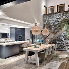Get inspired.. byCOCOON.com for Contemporary Minimalist Modern Luxury Design Bathrooms & Kitchens to live in &.. COCOON! Modern kitchen design ideas by #COCOON Dutch designer brand.