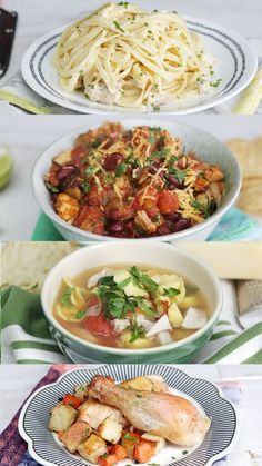 From lemony pasta to hearty soup, roast chicken can be turned into lots of yummy dishes.
