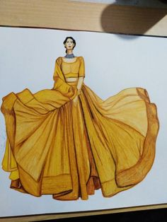 Dress Design Drawing, Dress Design Sketches, Fashion Design Drawings, Drawing Sketches, Sketching, Dress Illustration, Fashion Illustration Dresses, Fashion Model Sketch, Fashion Sketches