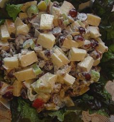 Twirl and Taste: Waldorf Salad is an American classic that's perfect for holiday entertaining