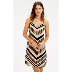 Buy Oasis Chevron Stripe Cami Dress, Multi Online at johnlewis.com
