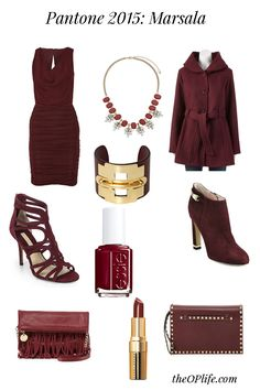 Take a look at the Pantone Color of the Year 2015 Marsala and see a few selections to give you a head start on this warm and rich look. Pantone 2015, Pantone Color, Color Of The Year, Marsala, Fashion Beauty, Pretty, Head Start, Google Search, Recipes
