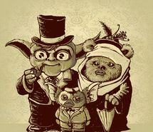 Inspiring picture ewok, gizmo, gremlins, star wars, yoda. Resolution: 550x550 px. Find the picture to your taste!