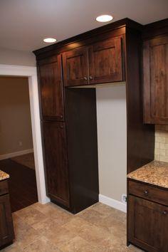 American Heritage Shaker Cabinets Installed By Legacy Mill U0026 Cabinet NW  Llc. Cabinet Style: Shaker, Finish: Kodiak.