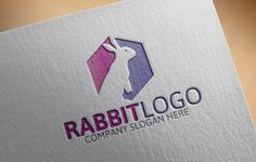 Rabbit Logo by Josuf Media on Creative Market