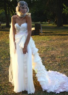 My Wedding Dress, seriously - Another Claire La Fay original.  Will be ordering in Feb.  Thanks, Dustin.