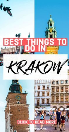 Plan your weekend in Krakow itinerary using my tried-and-tested guide. Find things to do, where to stay, where to eat, and more important information for your travels to Krakow, Poland. Europe Travel Guide, Travel Guides, Travel Destinations, Holiday Destinations, European Destination, European Travel, Poland Travel, Italy Travel, European City Breaks