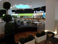 Braila Mall shopping mall, Romania  #shoppingmall #bdscontract #foodcourt #contractfurniture