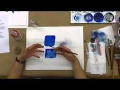 various watercolor techniques video