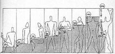 'The Modulor' is an anthropometric universal system/scale of proportions devised by the Swiss-born French modernist architect Le Corbusier Architecture Drawings, Landscape Architecture, Architecture Design, Japanese Architecture, Le Corbusier Marseille, Concept Diagram, Human Body, Scale, Google Search