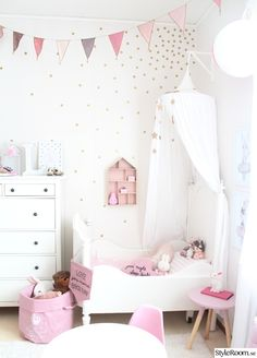 20 + Creative Ways Kids Rooms Ideas For Girls Toddler Daughters Princess Bedrooms 1 Baby Bedroom, Baby Room Decor, Nursery Room, Girls Bedroom, Bedroom Decor, Bedroom Ideas, 6 Year Old Girl Bedroom, Ikea Girls Room, Bed For Girls Room