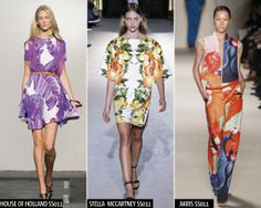 House of Holland, Stella McCartney And Akris Do Tropical Prints