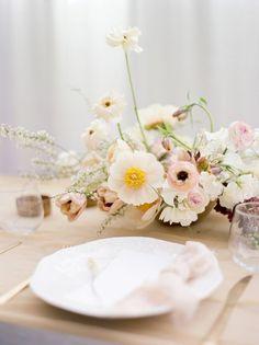 19 Ideas Wedding Table Flowers Pastel Floral Design For 2019 Yellow Wedding Flowers, Wedding Table Flowers, Wedding Flower Arrangements, Floral Wedding, Wedding Tulips, Boho Wedding, Floral Arrangements, Wedding Ceremony, Modern Wedding Flowers