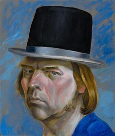 Philip Akkerman - Self-portrait 2009 no.24