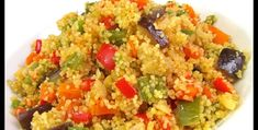 Couscous Salat, Fried Rice, Grains, Menu, Curry, Tasty, Cooking, Ethnic Recipes, Desserts