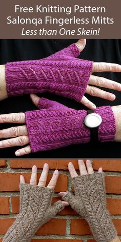 Easy Sweater Knitting Patterns, Knit Vest Pattern, Mittens Pattern, Knit Patterns, Free Knitting, Knitting Stiches, Fingerless Gloves Knitted, Knitted Hats, Fingering Yarn