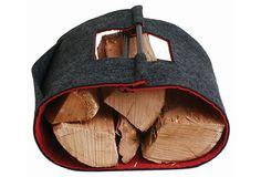 Felt Log Tote $12 on OneKingsLane.com