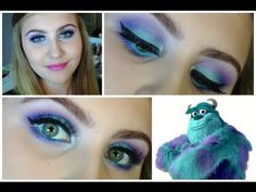 Sully/Monsters Inc Inspired Tutorial - YouTube