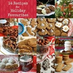 The Holiday Book - a free eBook featuring 14 recipes for Christmas cookies, spiced candied nuts and a very special cranberry sauce recipe.