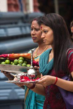 Plaatje van Sri Mariamman tempel, Singapore, Azië - Singapore - Azië
