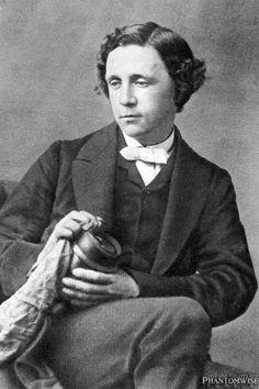 Charles Dodgson a.k.a. Lewis Carroll (1863) Taken by Oscar Gustave Rejlander