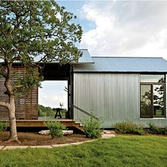 Would make a great hunting cabin or a guest house or just a cool relaxing get away too!
