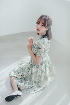 Modern Hanbok, Body Shapes, Korea, Slim, Etsy Shop, Beige, Elegant, Mini, Floral