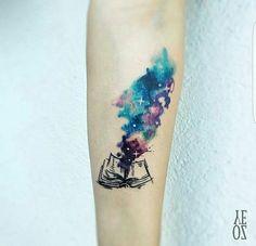 Book & galaxy