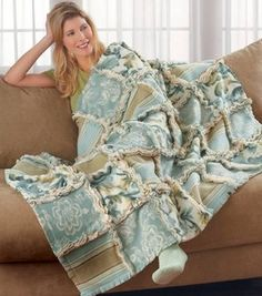 Fleece Ragged Quilt
