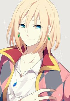 Howl, from Howl's Moving Castle.                                                                                                                                                     More