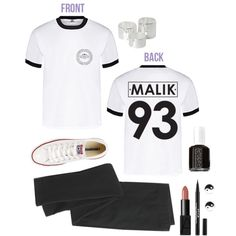 Zayn Malik Shirt by sam-isabella on Polyvore featuring Madewell, Converse, Monki, River Island and Essie