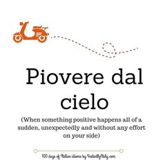 Day 52 of 100 Days of Italian Idioms by instantlyitaly.com