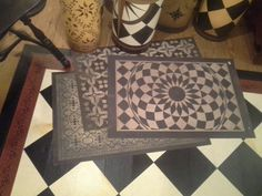 Pennsylvania Traditions Oil Cloth Rugs I Don T Step On