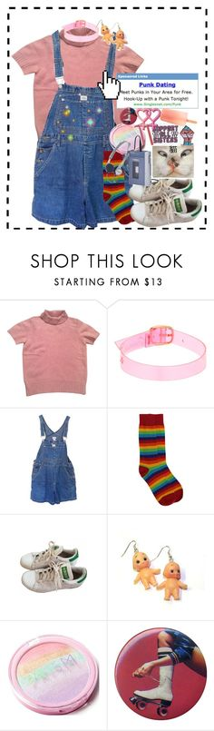 """""""batya <3"""" by vampiristic ❤ liked on Polyvore featuring Kenzo, Gemma Lister, Calvin Klein, adidas, Hannah Makes Things, Blink, Microsoft and vintage"""