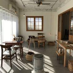 Home Decoration Cheap Ideas Cafe Shop Design, Cafe Interior Design, Interior Architecture, House Design, Small Restaurant Design, Cafe Concept, Ulsan, Home And Living, Room Decor