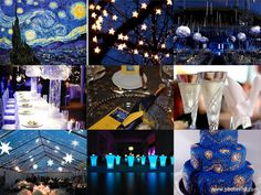 "Daily Inspiration: Van Gogh's ""Starry Night"" Wedding"
