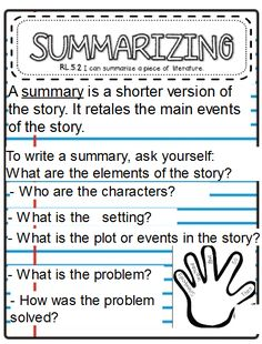 Summary, Literature, The Unit, 3d, Education, Writing, Reading, Literatura, Abstract