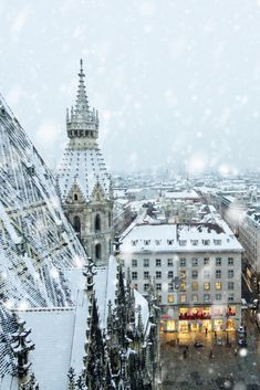 Winter Wallpaper, Christmas Wallpaper, Dream Vacations, Vacation Spots, Fantasy City, Sky Aesthetic, Rotterdam, Time Travel, Aesthetic Wallpapers
