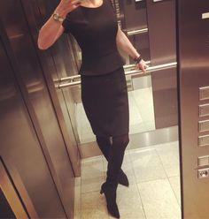 "Gefällt 55 Mal, 2 Kommentare - Bine kocht! (@bine_kocht) auf Instagram: ""#dress #hugoboss #black #peterkaiser #palmers #backinblack #ootd #outfitoftheday #friday #kleid…"""