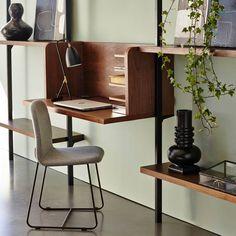 Image Module voor bureau Taktik, massiek eik AM. Vintage Furniture, Furniture Design, Furniture Decor, Solid Oak Desk, Mesa Home Office, Interior Architecture, Interior Design, Modern Interior, New Living Room